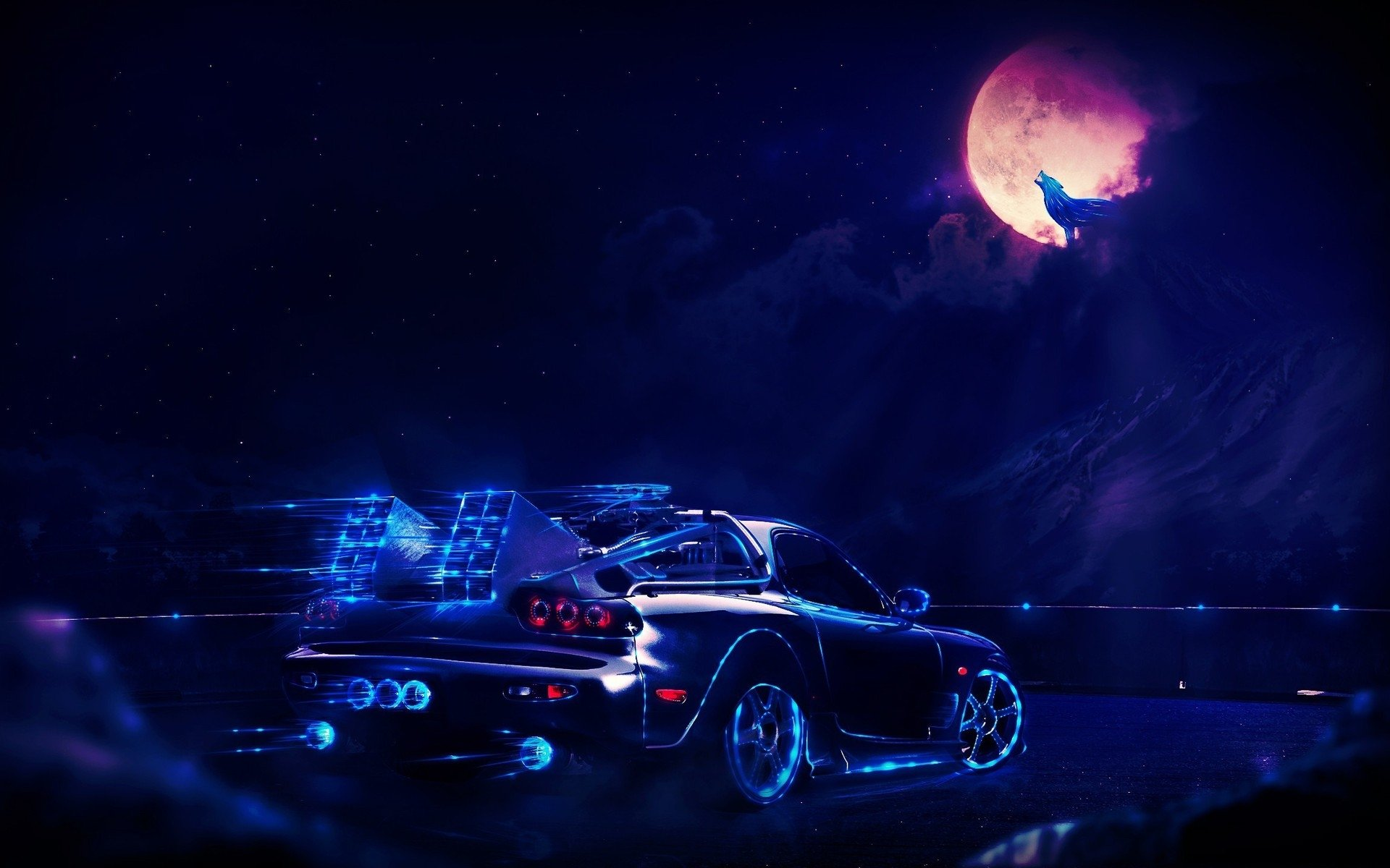 Sci Fi - Vehicle  Car Back To The Future Wallpaper