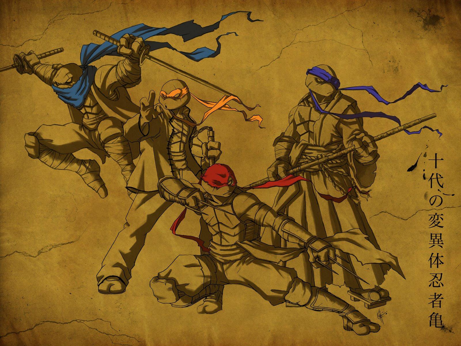 Teenage mutant ninja turtles comic wallpaper - photo#42