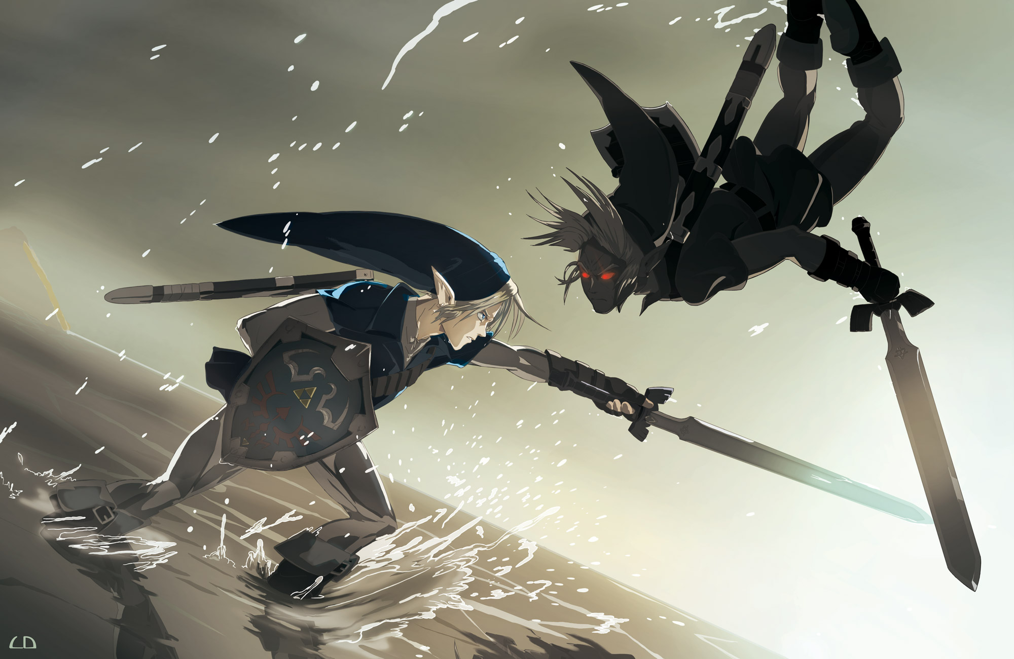 3 Dark Link HD Wallpapers