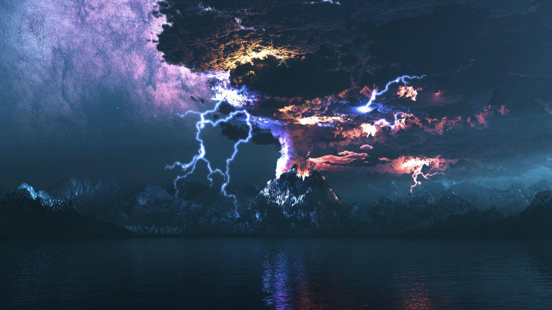 молния на ipad