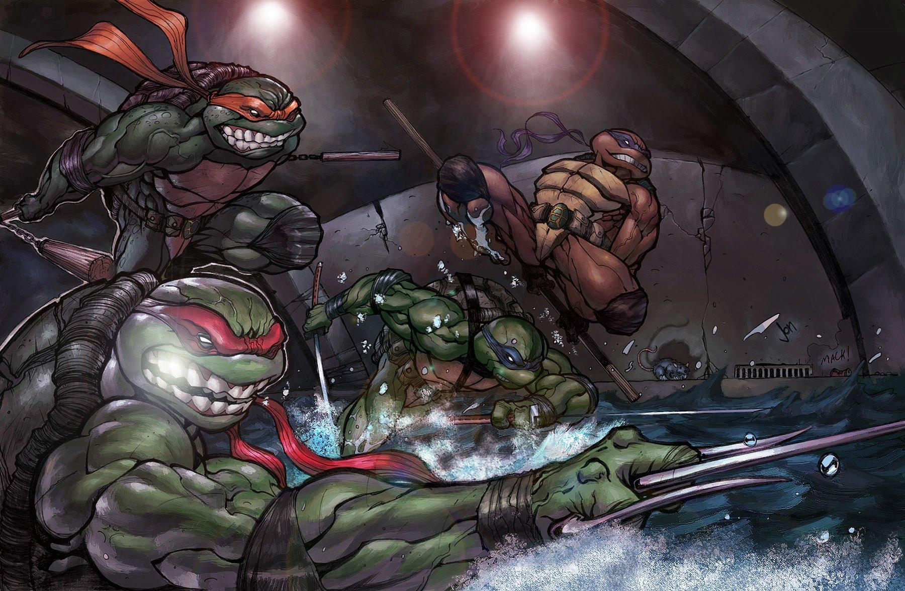 Teenage mutant ninja turtles wallpaper and background image 1800x1176 id 202035 wallpaper - Ninja turtles wallpaper ...