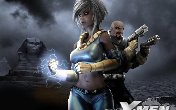 Video Game X-Men Legends II: Rise of Apocalypse X-Men Storm Bishop HD Wallpaper | Background Image