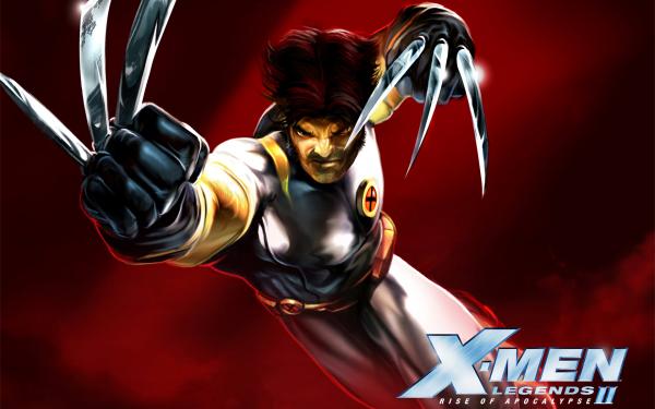 Video Game X-Men Legends II: Rise of Apocalypse X-Men Wolverine HD Wallpaper | Background Image