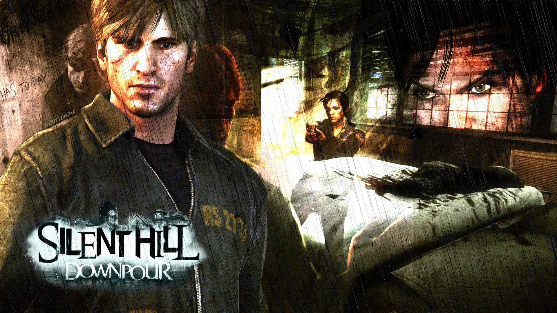Silent Hill Hd Wallpaper Background Image 1920x1080 Id204369