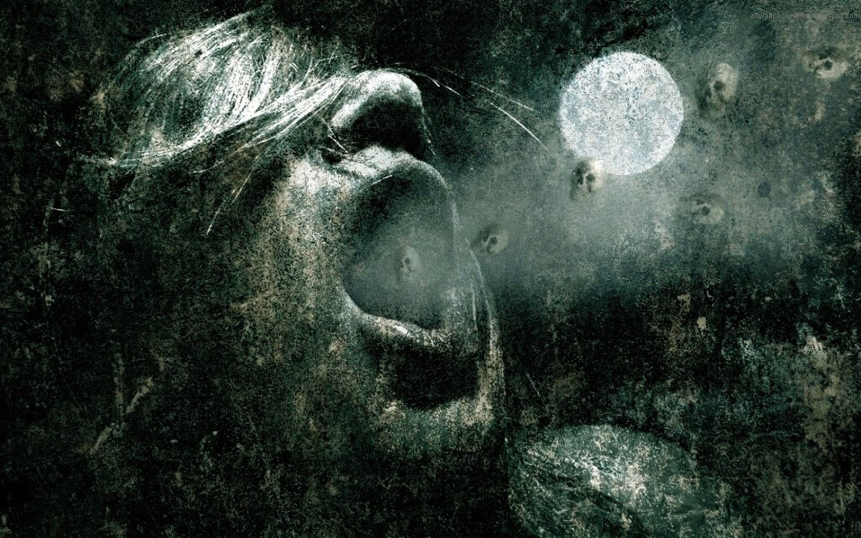 Creepy wallpaper and background image 1680x1050 id 204509 - Dark horror creepy wallpapers ...