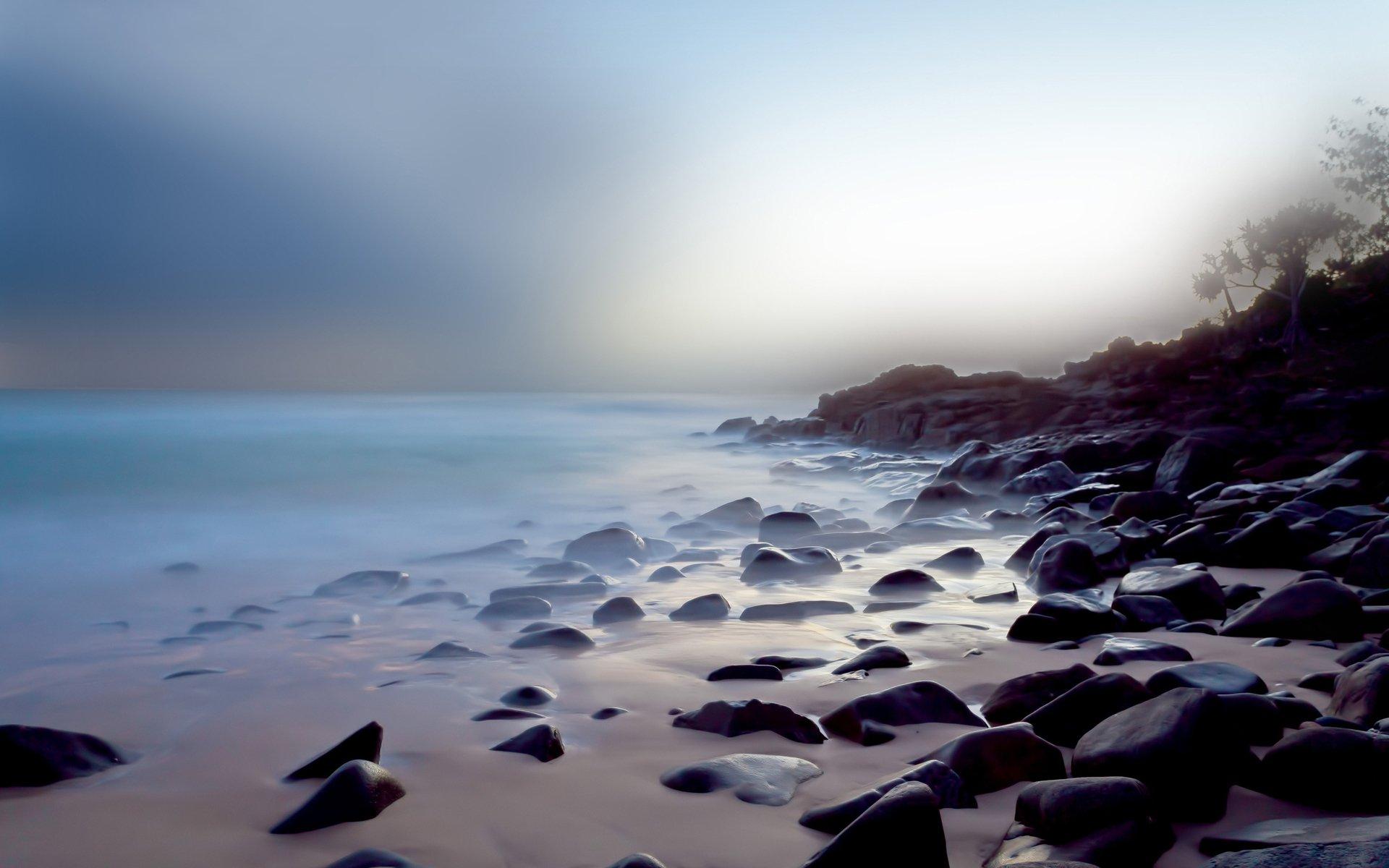 Earth - Beach  Coastline Ocean Shore Wallpaper