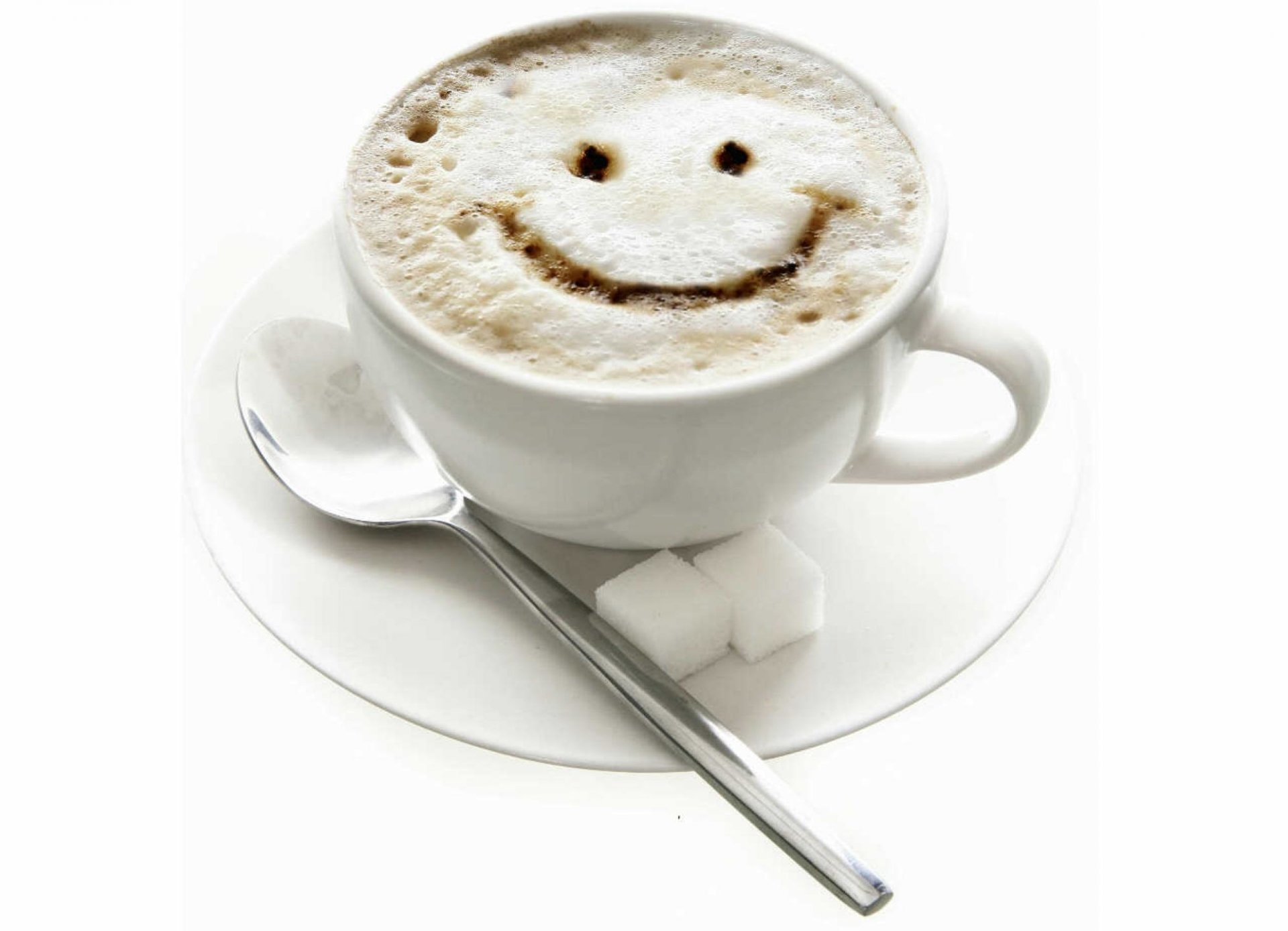 Food - Coffee  Smiley Wallpaper