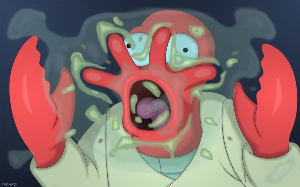TV Show Futurama Sci Fi Zoidberg HD Wallpaper | Background Image