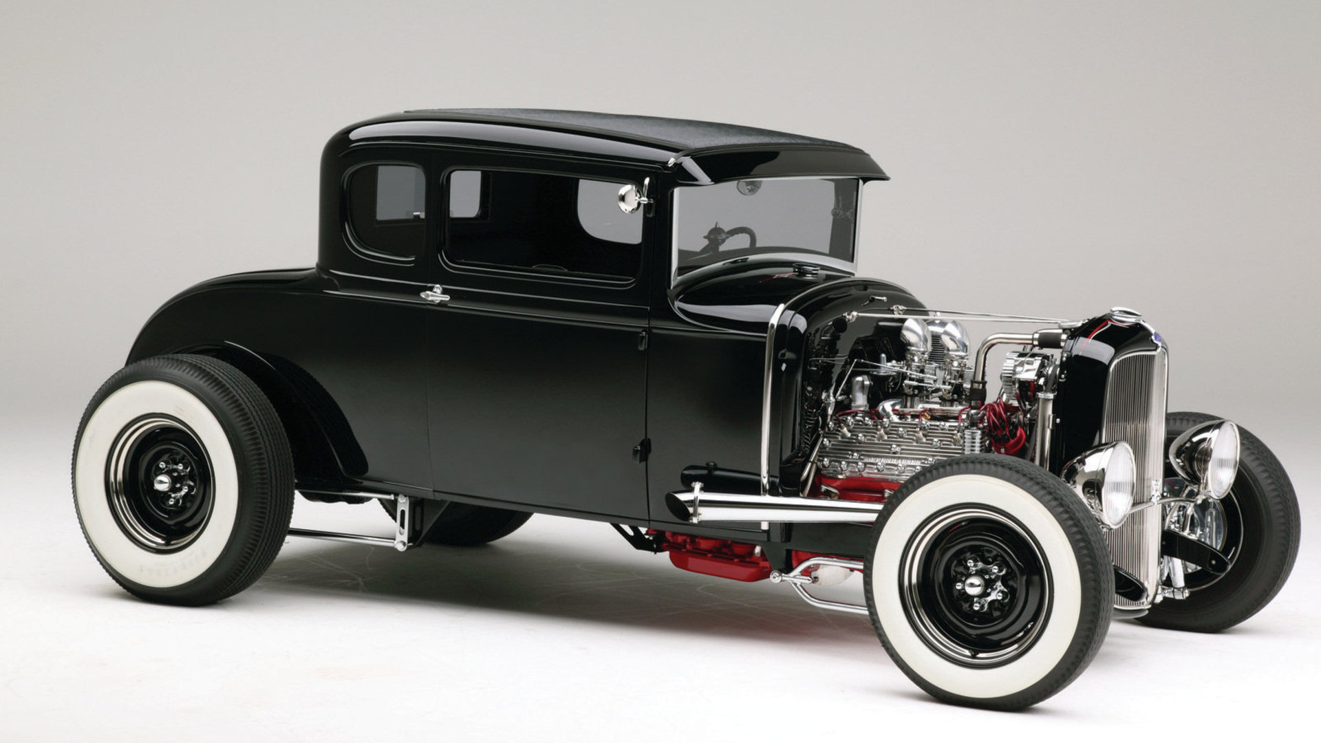 1930 Ford Model A Coupe Hd Wallpaper Background Image