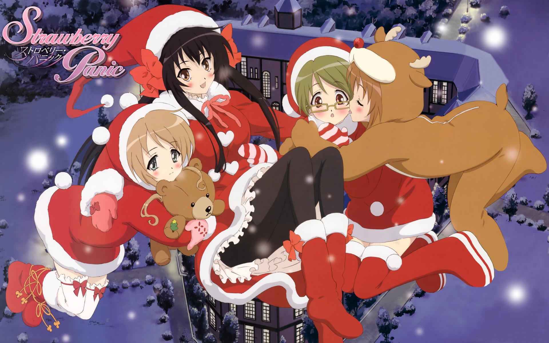 Christmas full hd wallpaper and background image - Anime girl christmas wallpaper ...
