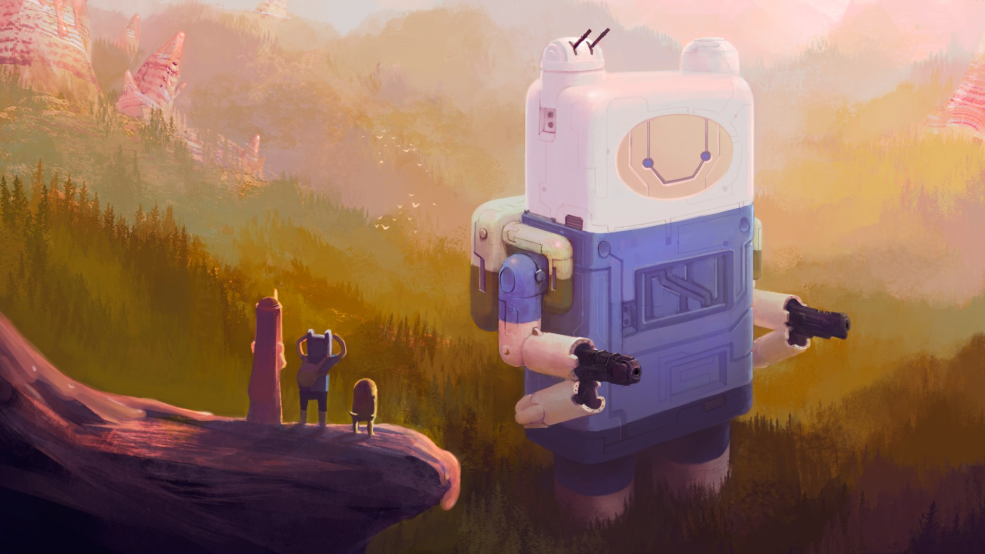 Adventure time full hd wallpaper and background image - Cartoon art wallpaper hd ...