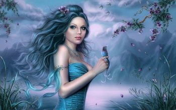 Fantasy - Women Wallpapers and Backgrounds ID : 205305