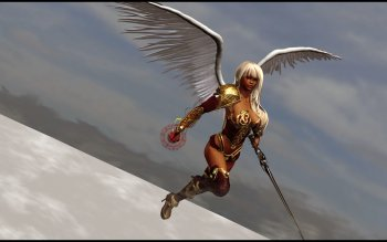 Fantasy - Angel Warrior Wallpapers and Backgrounds ID : 205605