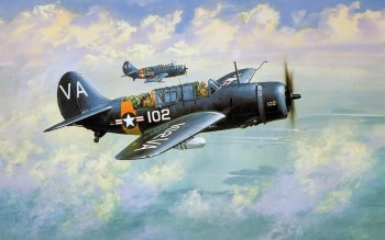 6 Douglas SBD Dauntless HD Wallpapers | Background Images
