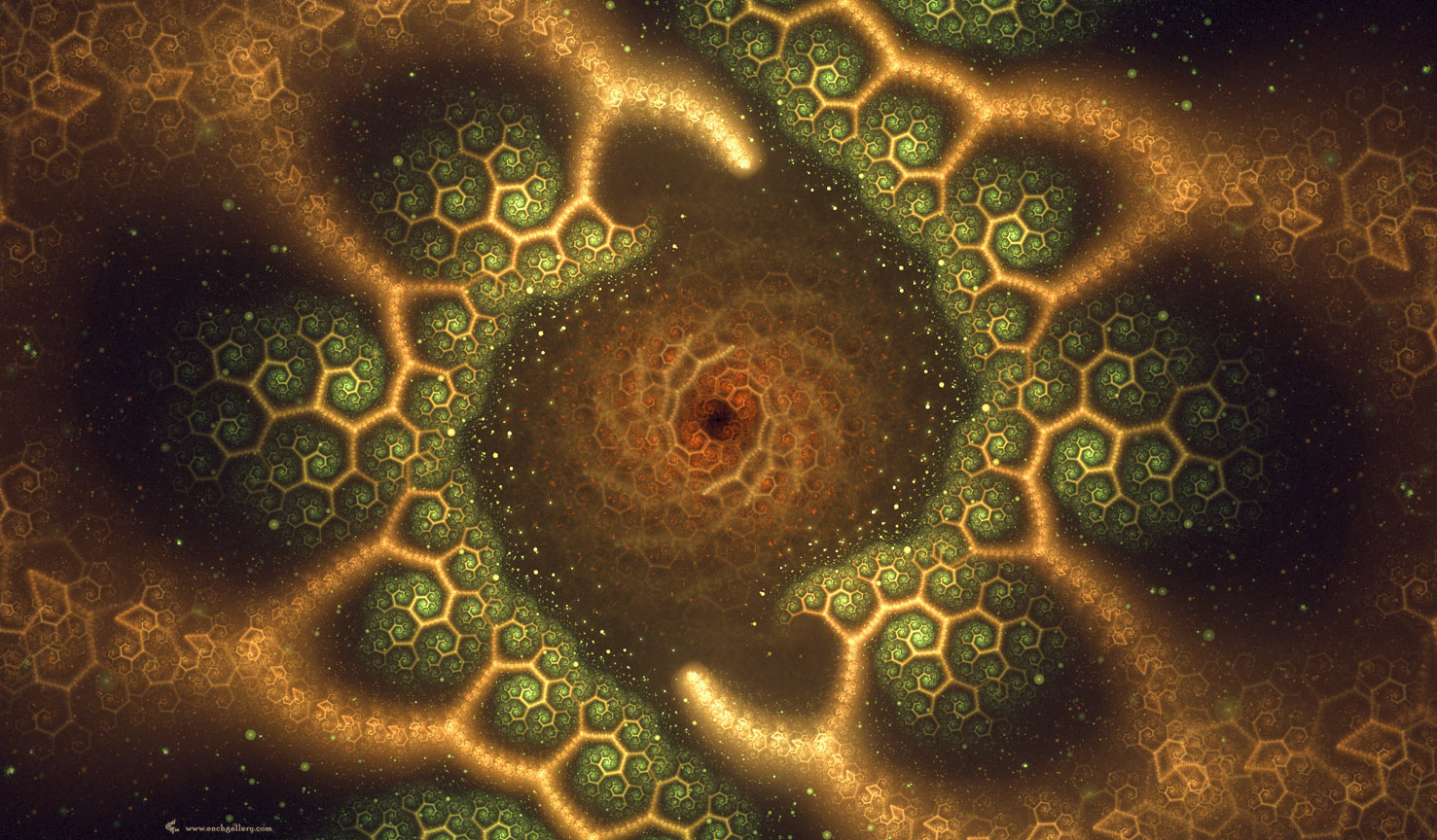 Pattern - Fractal Wallpaper