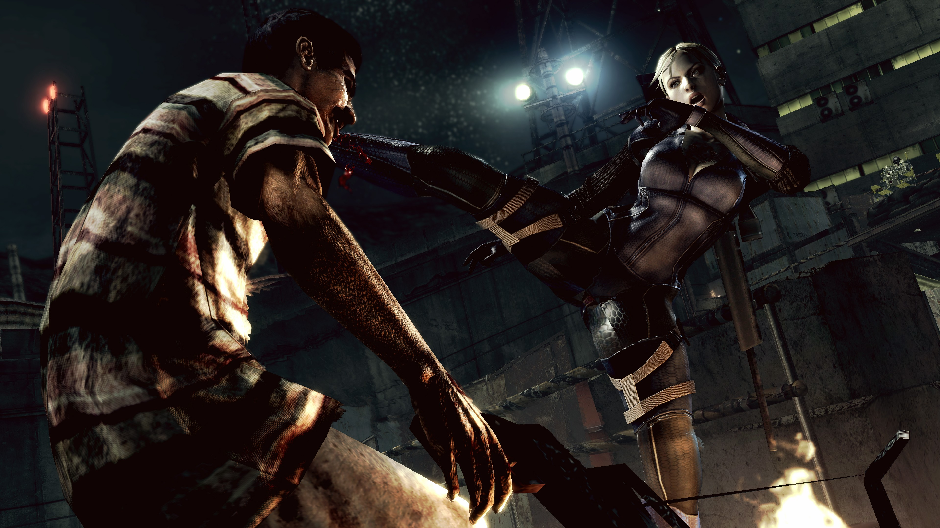 Resident Evil 5 4k Ultra HD Wallpaper | Background Image ...
