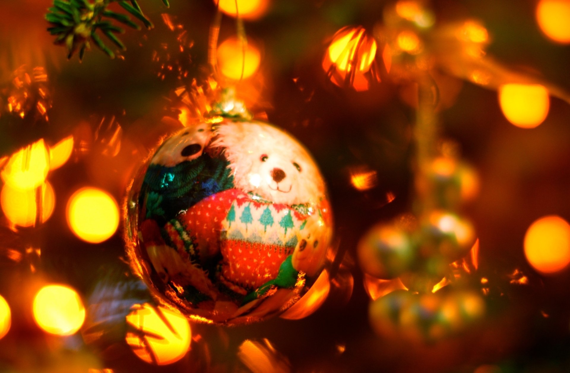 Feestdag - Kerstmis  Christmas Ornaments Wallpaper