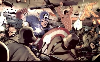 Comics - Captain America Wallpapers and Backgrounds ID : 206399