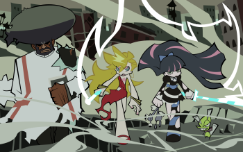 Anime - Panty And Stocking With Garterbelt Wallpapers and Backgrounds ID : 206425