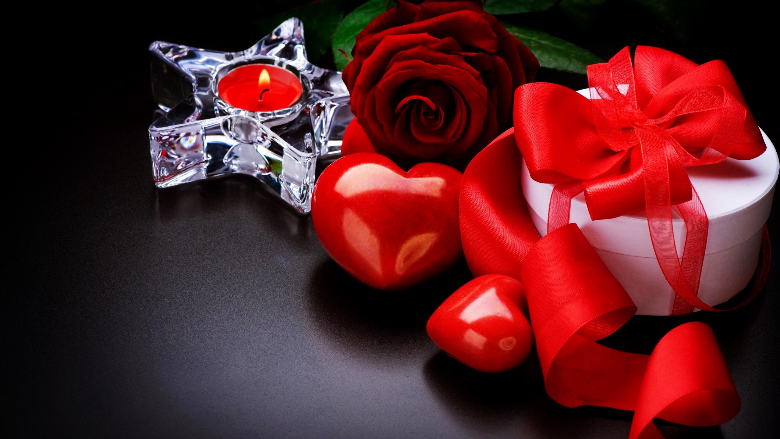 Valentinstag Hd Wallpaper Hintergrund 2560x1440 Id 208505
