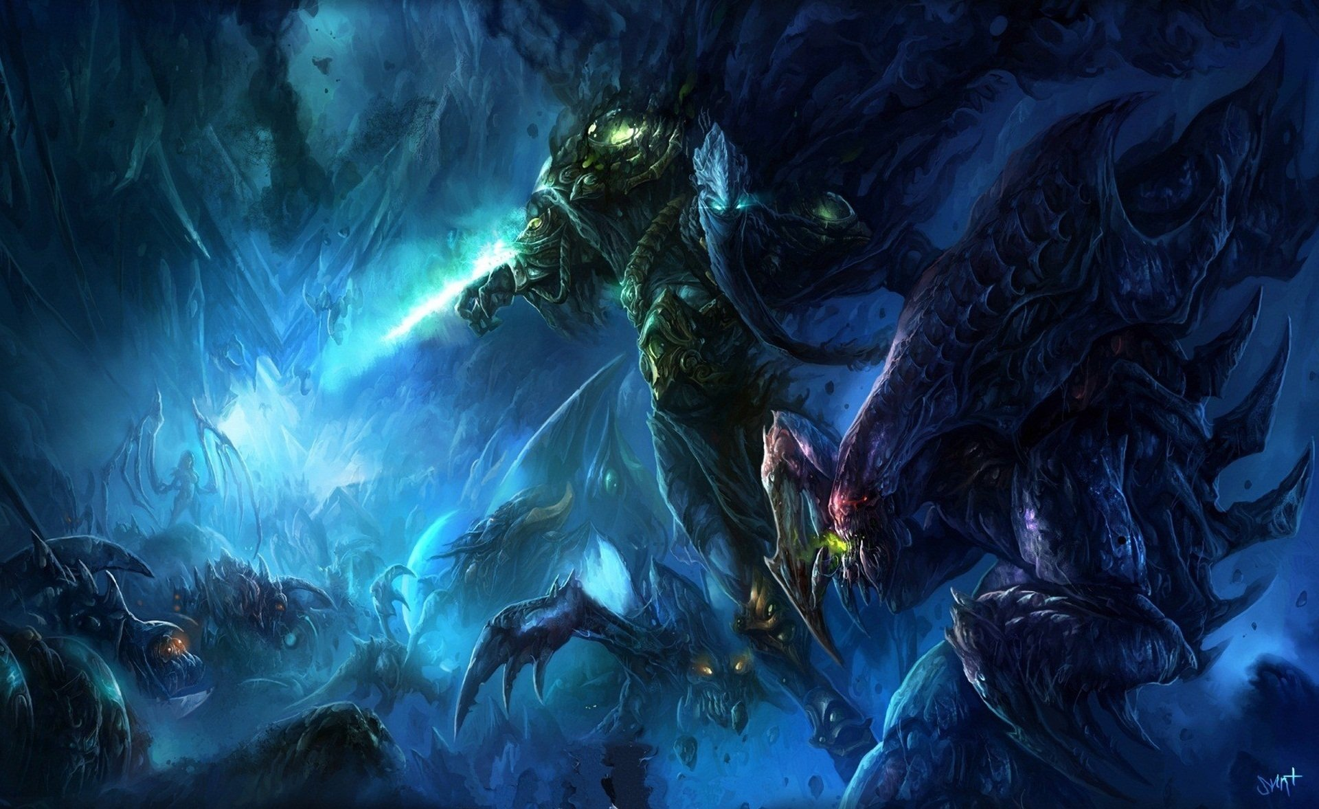 Starcraft II Full HD Wallpaper And Background Image