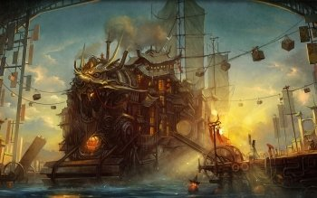 Sci Fi - Steampunk Wallpapers and Backgrounds ID : 209609