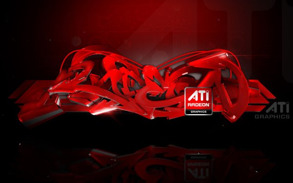 Technology ATI Logo Computer Hardware ATI Radeon HD Wallpaper | Background Image