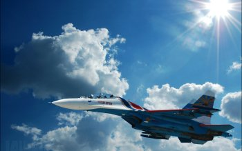 Military - Sukhoi Su-27 Wallpapers and Backgrounds ID : 210619