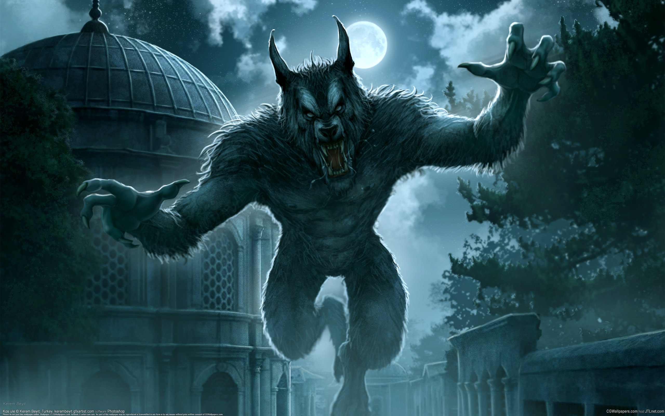 155 werewolf hd wallpapers | background images - wallpaper abyss