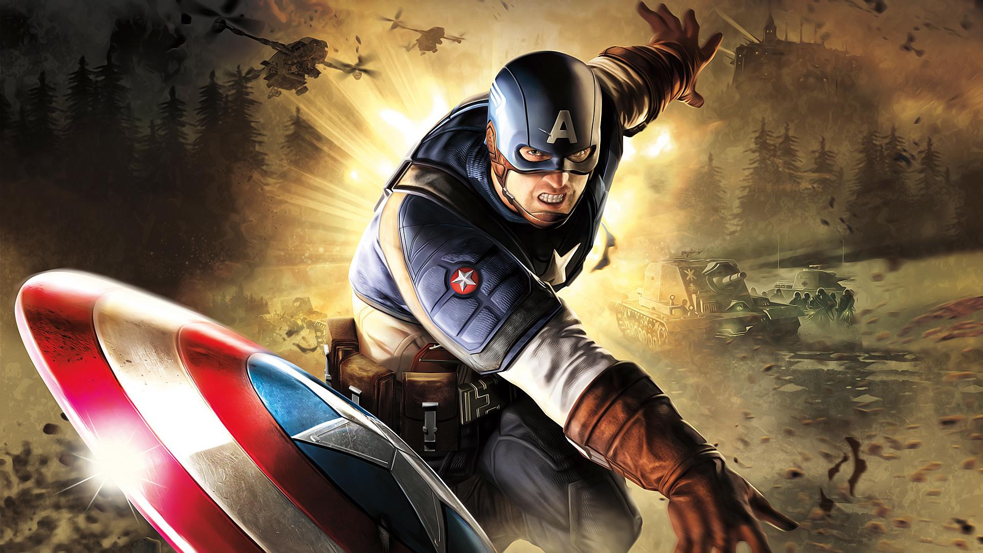 Captain america hd wallpaper background image 1920x1080 id 211685 wallpaper abyss - Image captain america ...