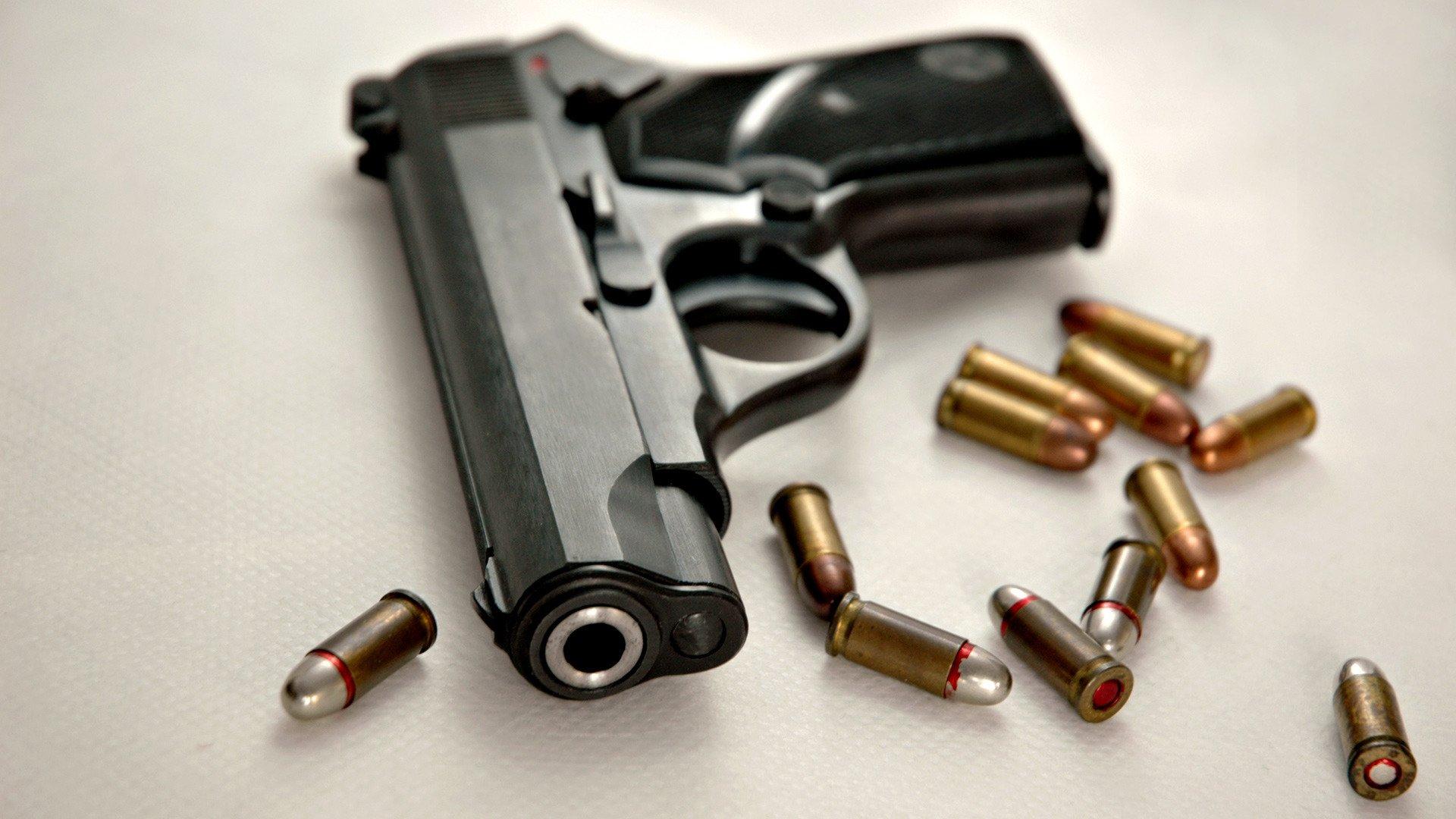 Hd wallpaper gun - Hd Wallpaper Background Id 211347 1920x1080 Weapons Pistol