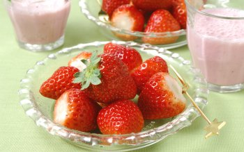 Food - Strawberry Wallpapers and Backgrounds ID : 211739