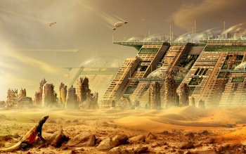 Sci Fi - City Wallpapers and Backgrounds ID : 214317