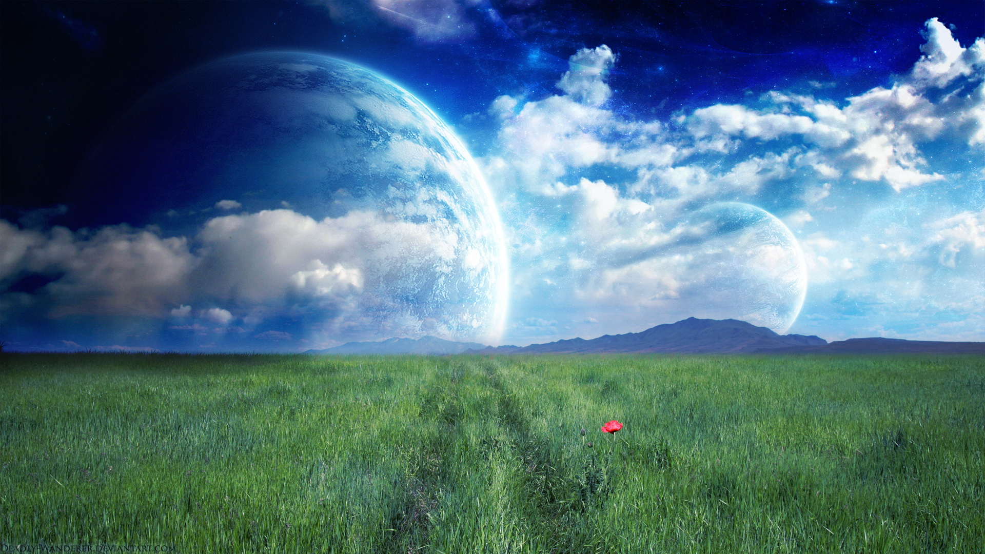 Earth - A Dreamy World  Wallpaper