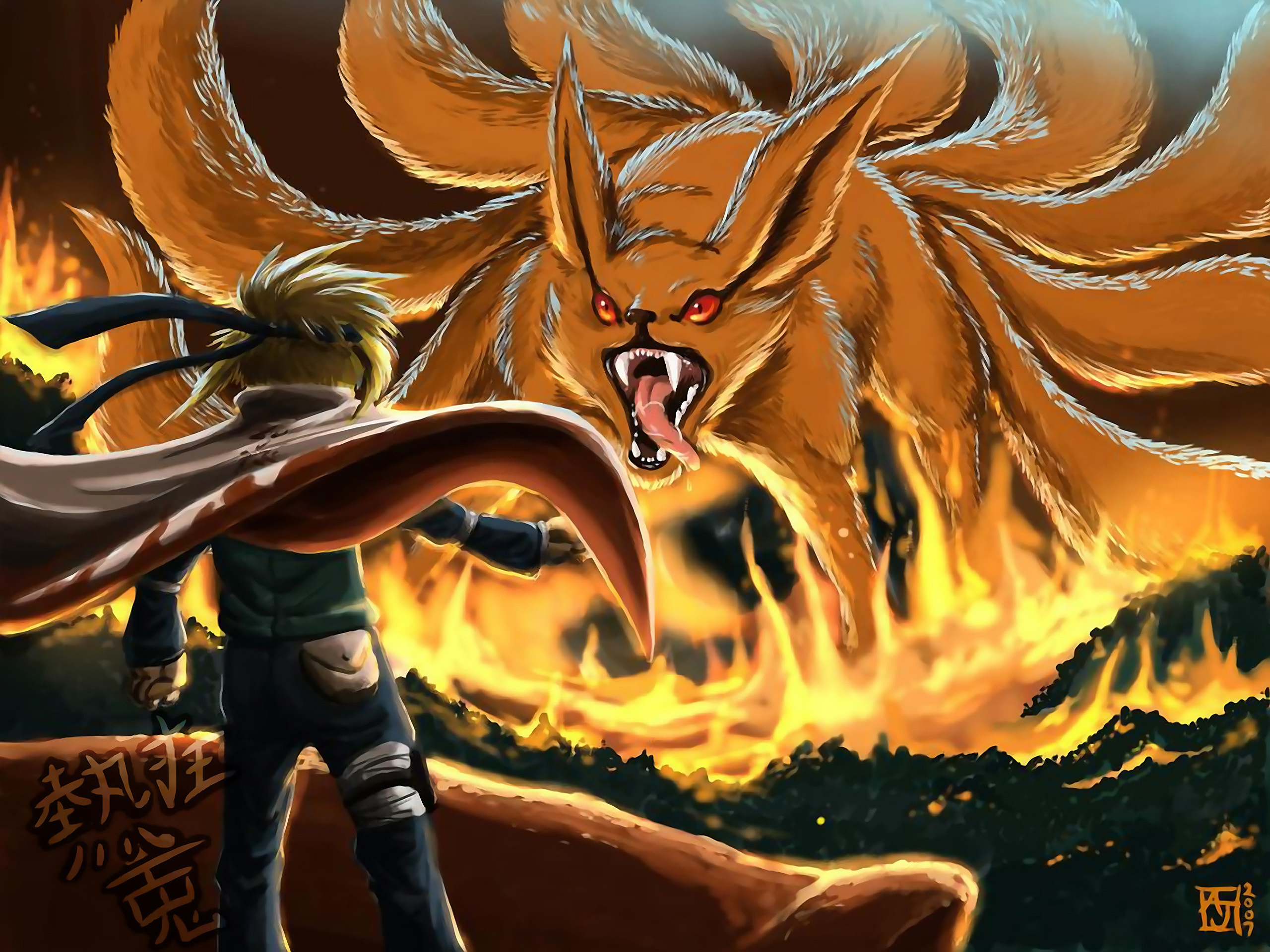 0 Tails Naruto 14 nine-tails (naruto) hd wallpapers | background images