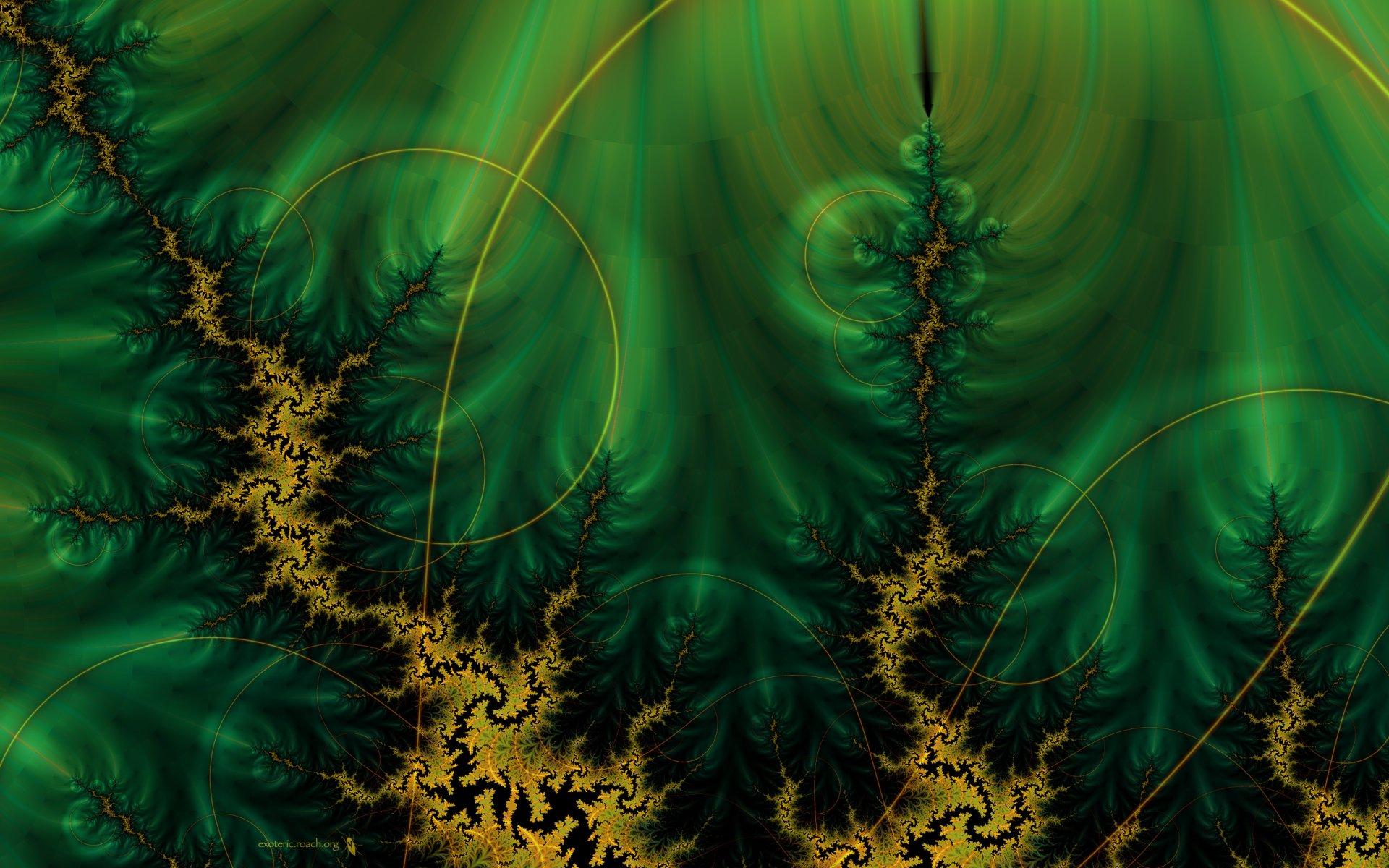 Abstracto - Fractal  Digital Abstracto Fondo de Pantalla
