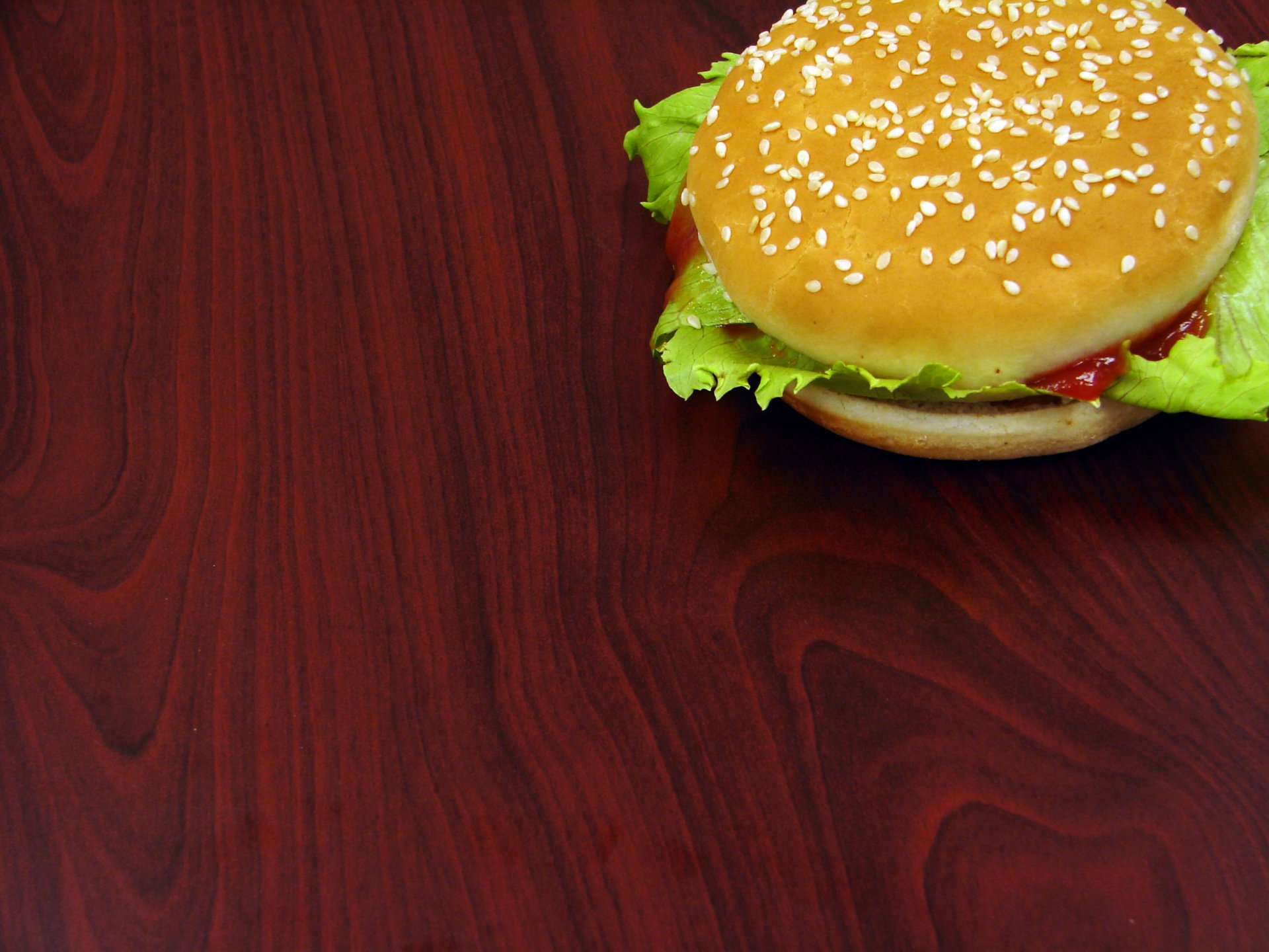 Food - Burger  Wallpaper