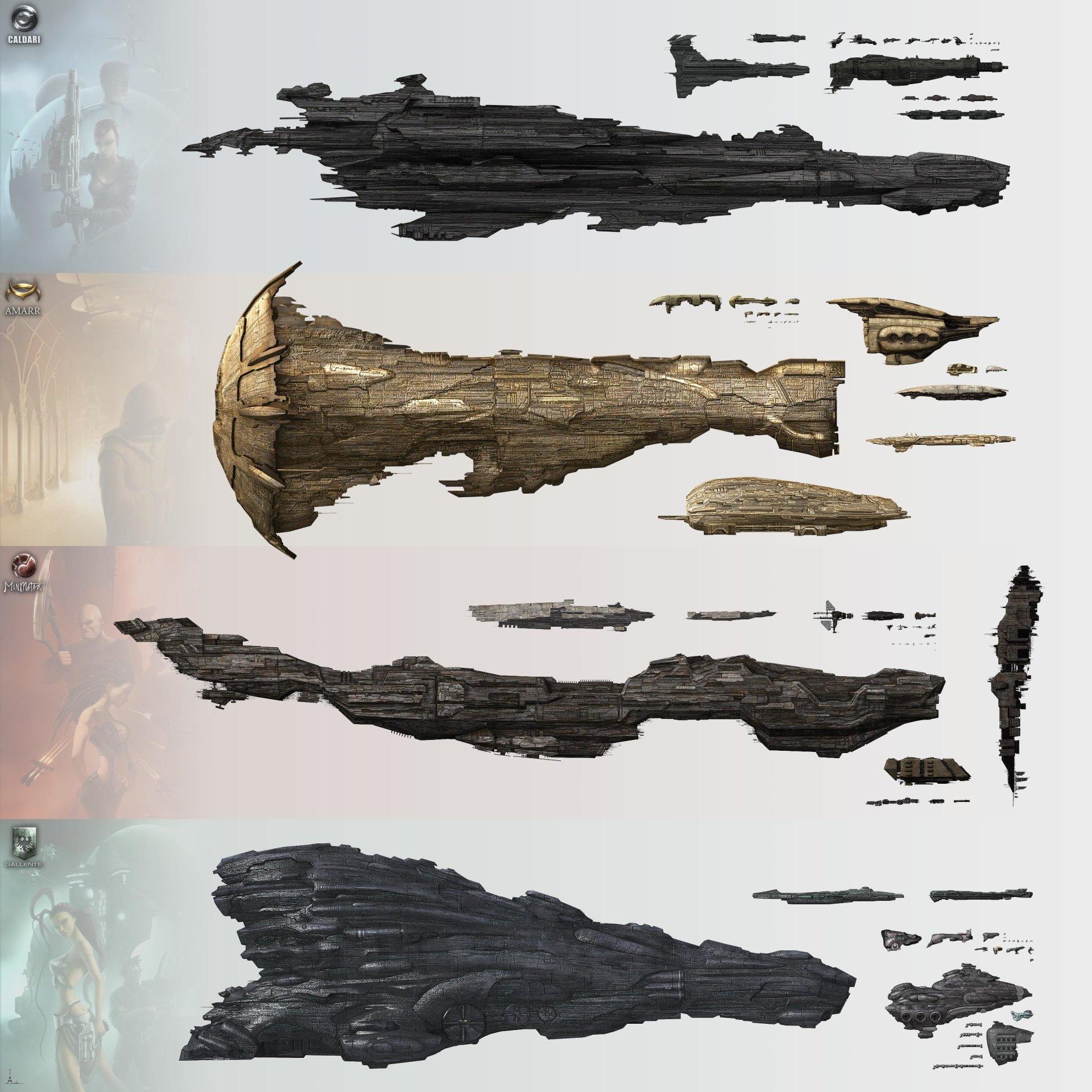 Video Game - EVE Online  Wallpaper