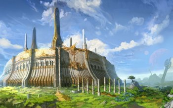 Fantasy - Building Wallpapers and Backgrounds ID : 216669