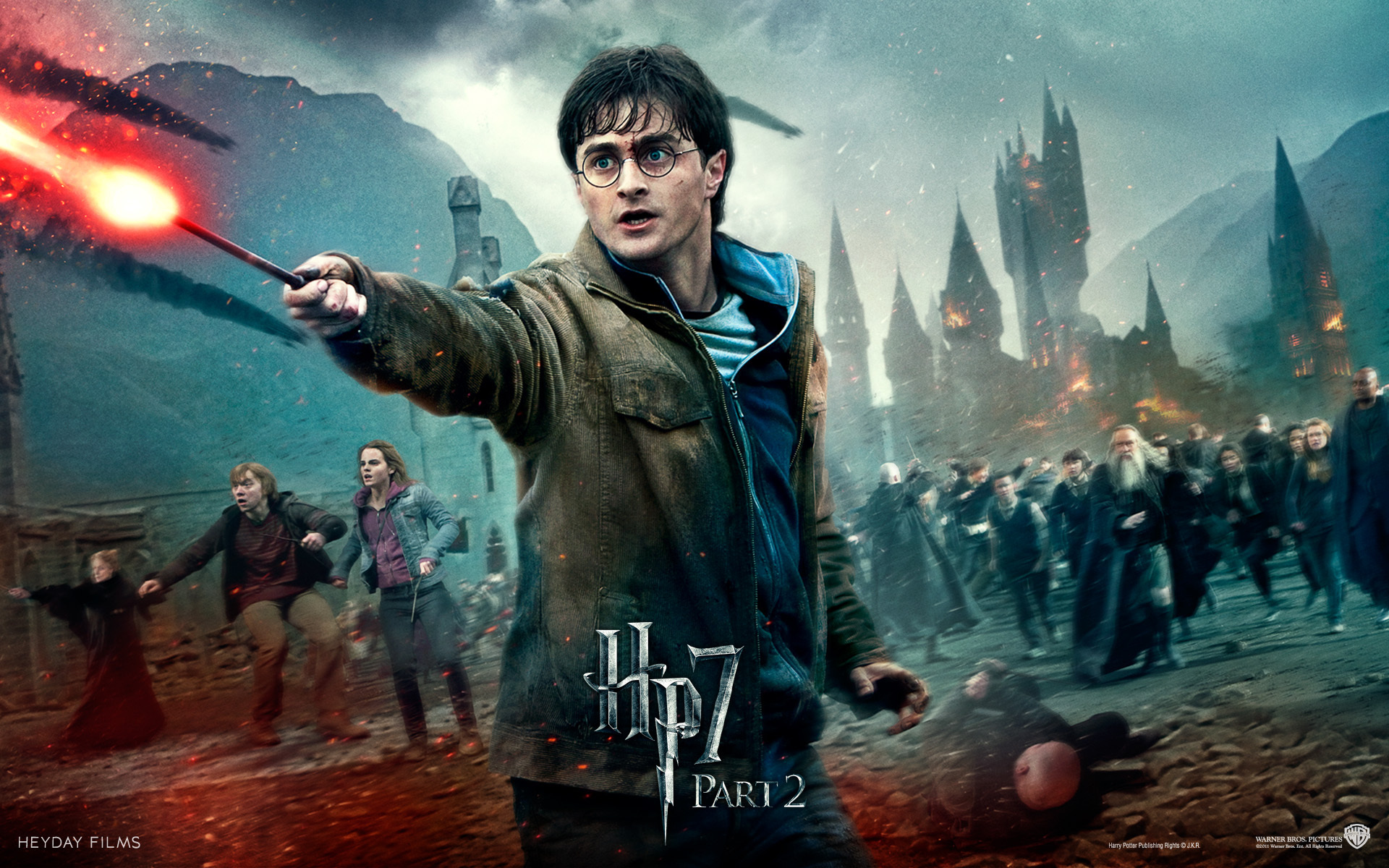 Movie - Harry Potter And The Deathly Hallows: Part 2 Wallpaper