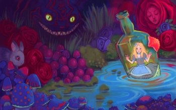 Fantasy - Alice In Wonderland Wallpapers and Backgrounds ID : 217199