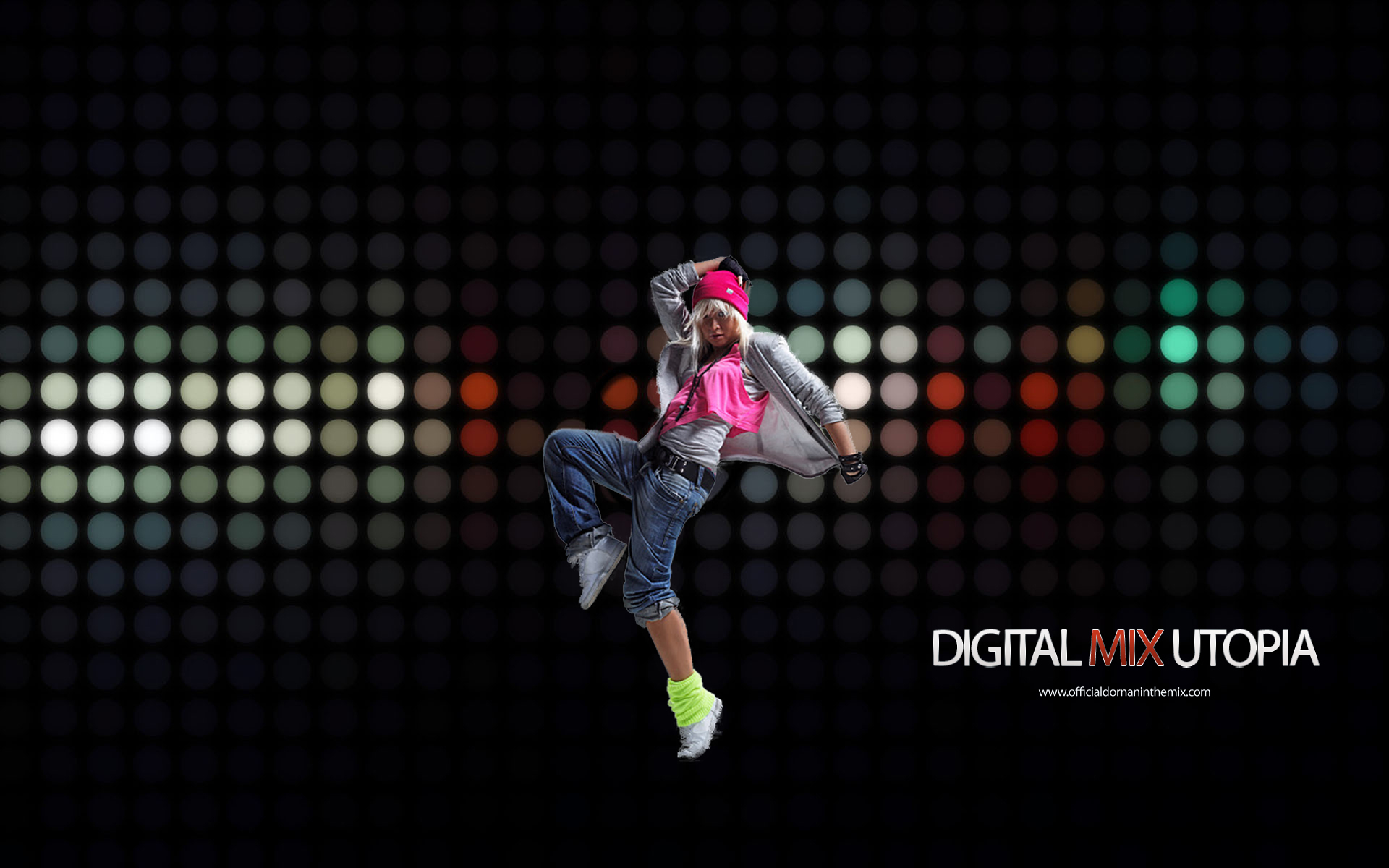 Digital mix utopia 04 full hd wallpaper and background for House music dance