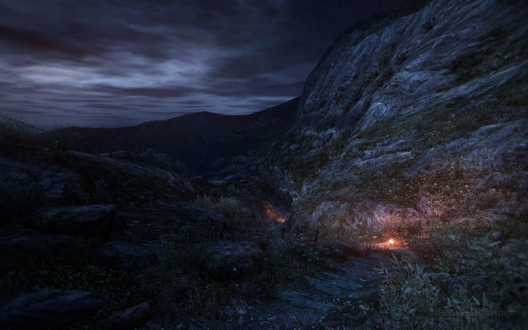 Dear Esther WALLPAPERS fully recolored by GL4D