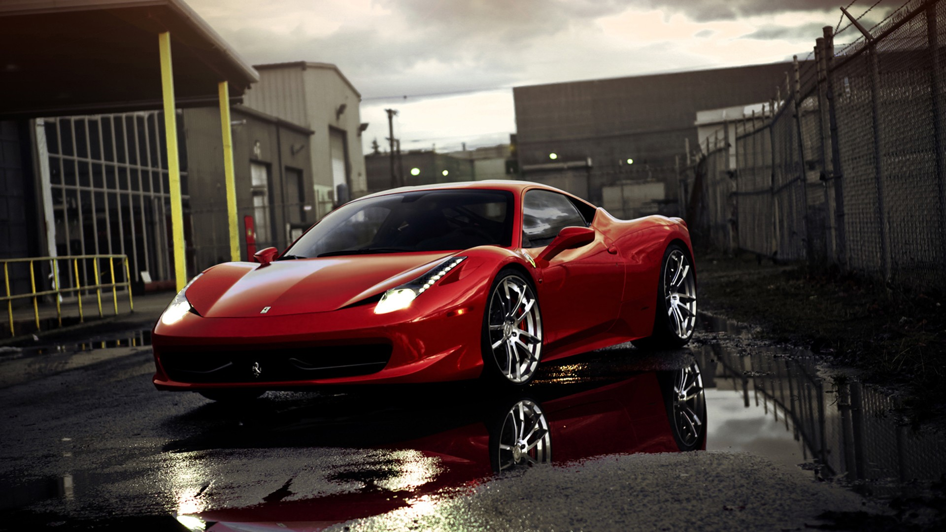 Ferrari Full HD Wallpaper And Background Image