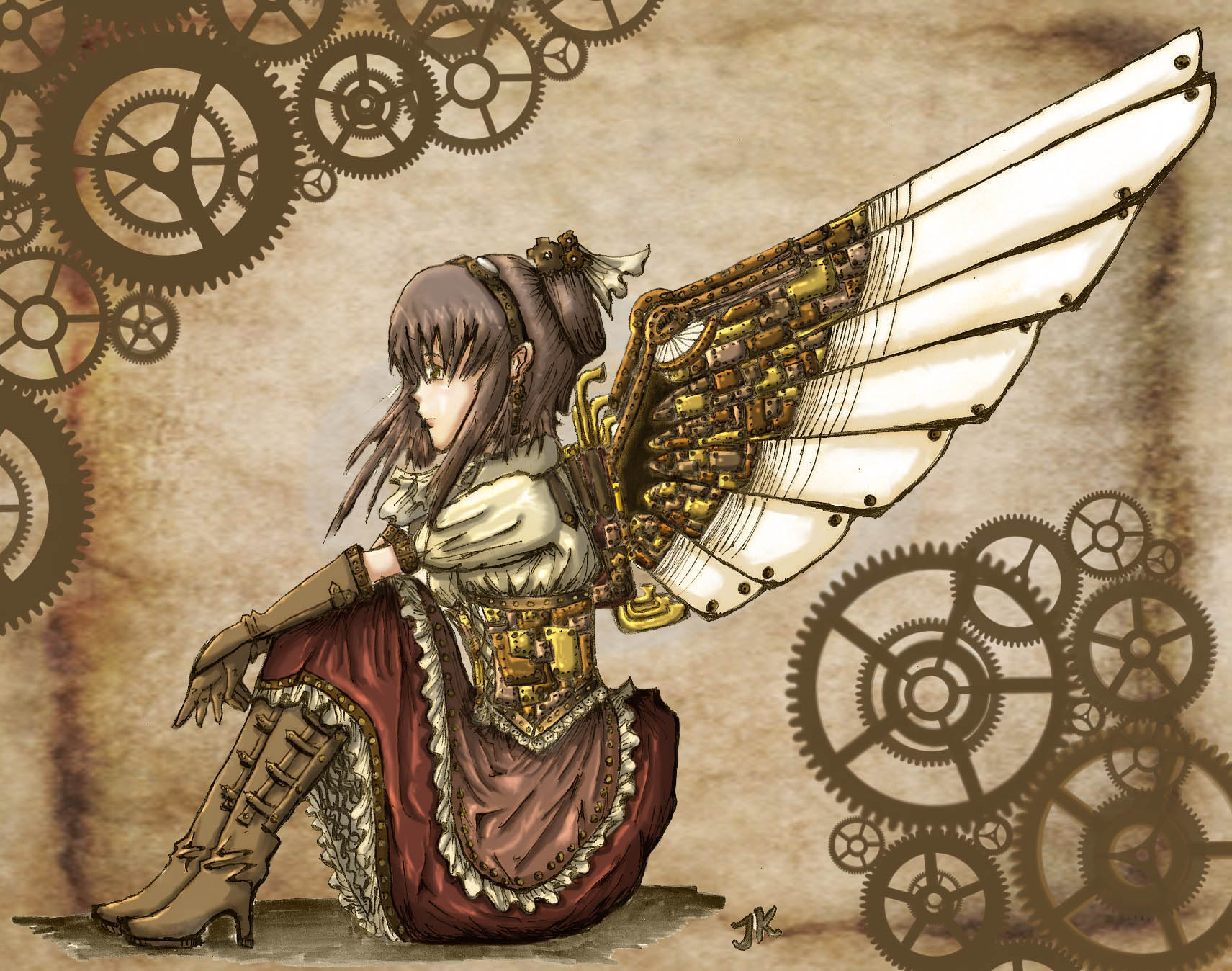 steam punk anime steampunk - photo #37