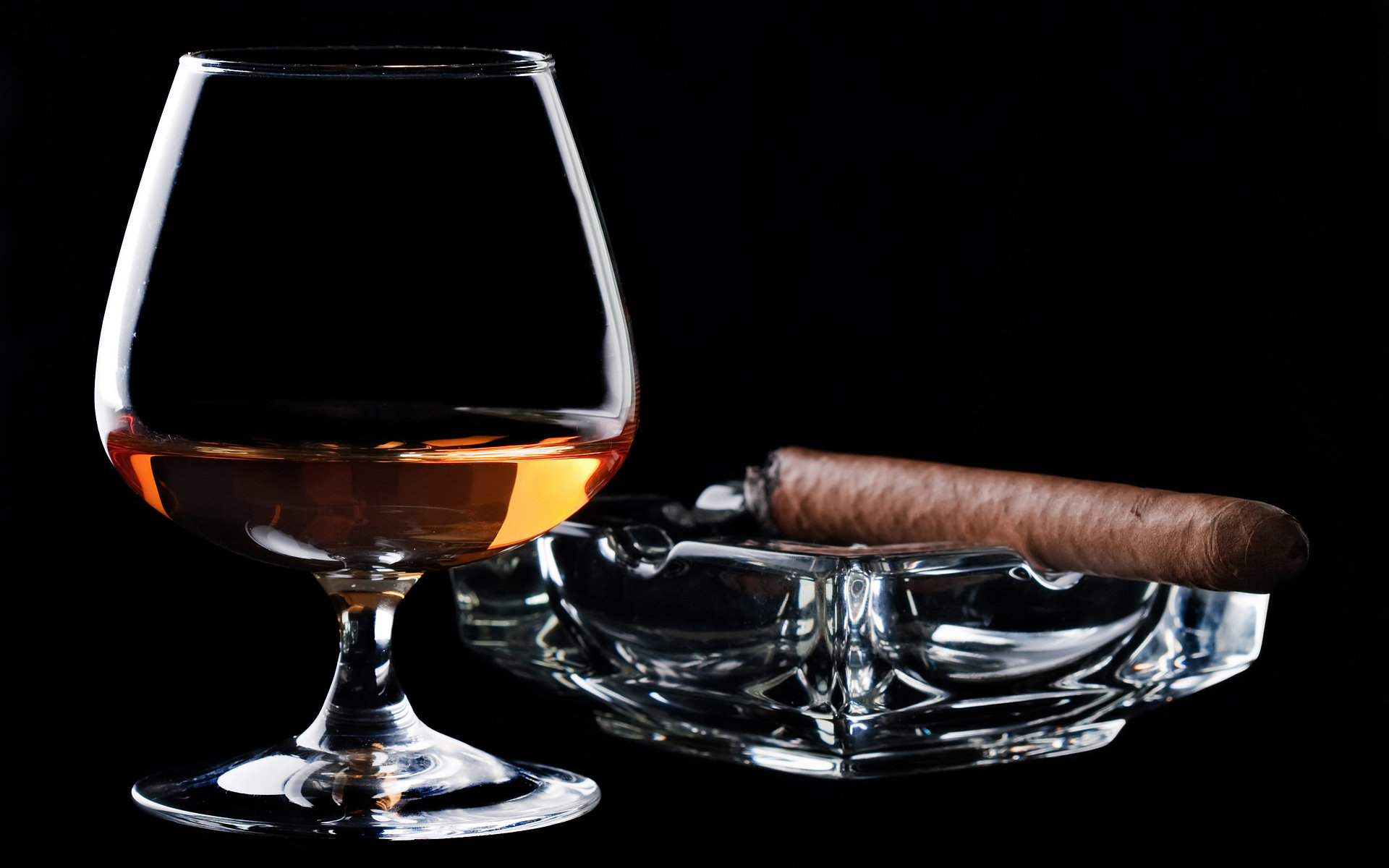 Cognac and a cigar full hd wallpaper and background for Cognac design