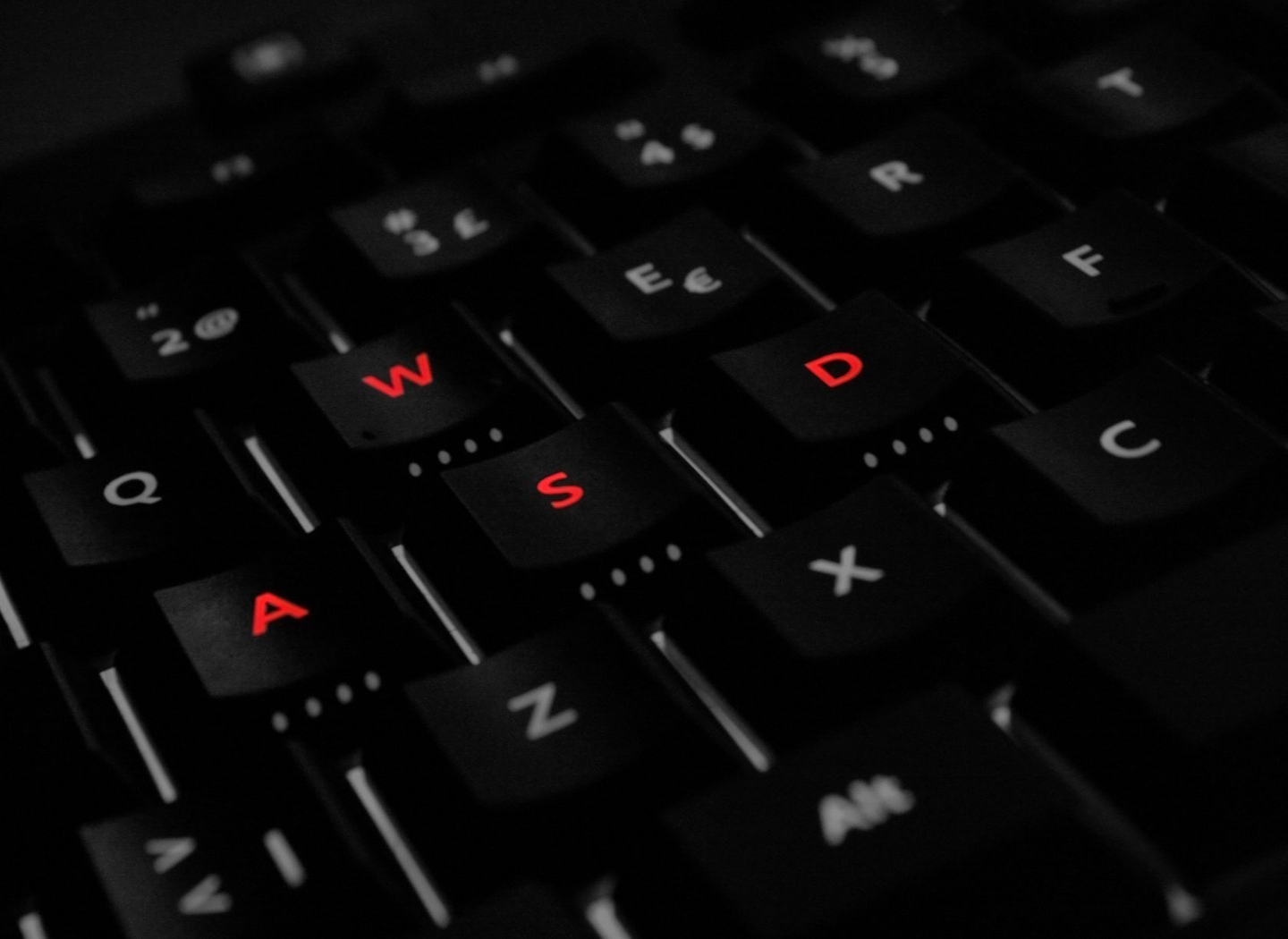 Technology - Keyboard  - Wasd -  Keyboard -  Gaming Wallpaper