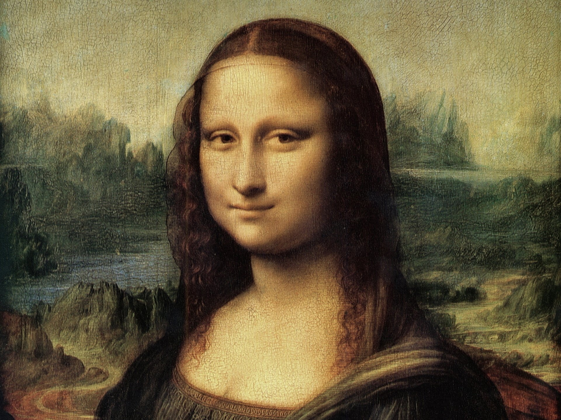 Artistic - People  Mona Lisa Leonardo Da Vinci Wallpaper