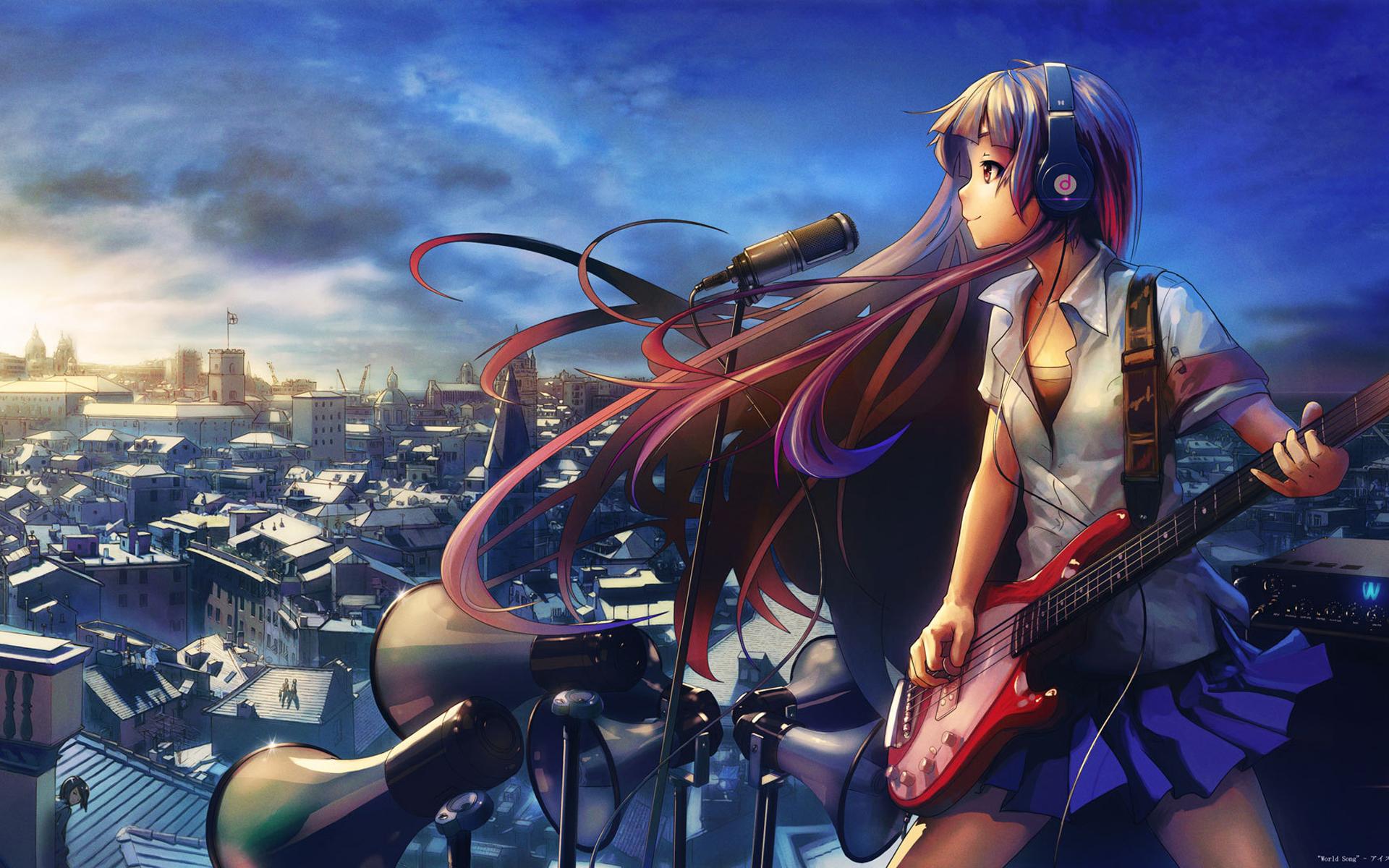 Headphones HD Wallpaper   Background Image   1920x1200 ...