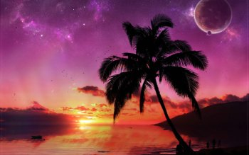 Science-Fiction - Sonnenaufgang Wallpapers and Backgrounds ID : 22159